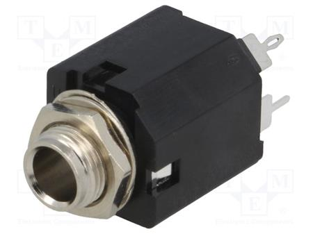 CONECTOR 6.3 ST CHASIS C/CORTE AMPHENOL MN-3S