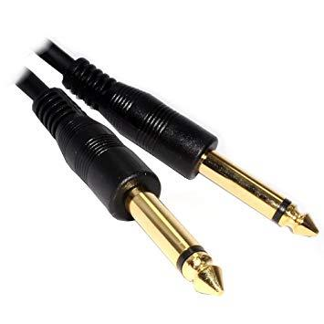 CABLE 6,3 MONO M/M  0,5M GOLD  PURESONIC