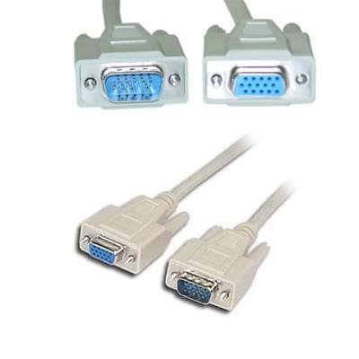 CABLE PROLONG.MONITOR VGA 5MTS DB-15 M/H