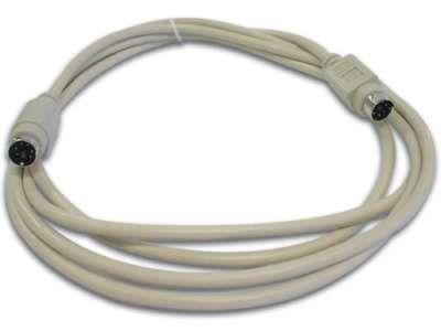 CABLE MINI DIN 6P MACHO/MACHO