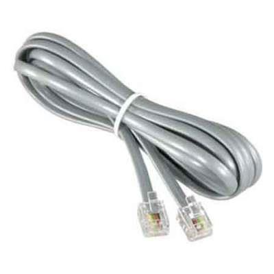 CABLE TELF. 4MTS C/FICHAS