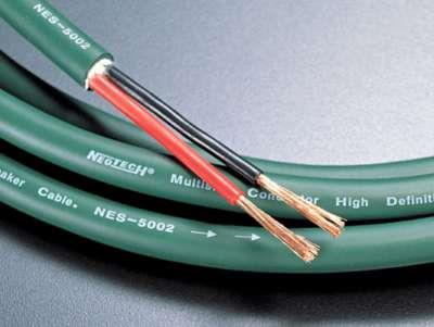 CABLE BAFLE NEOTECH NES-5002 14AWG 2X2mm