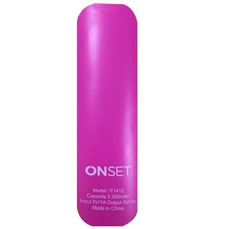 POWER BANK HANDLY 2.2A ROSA ONSET