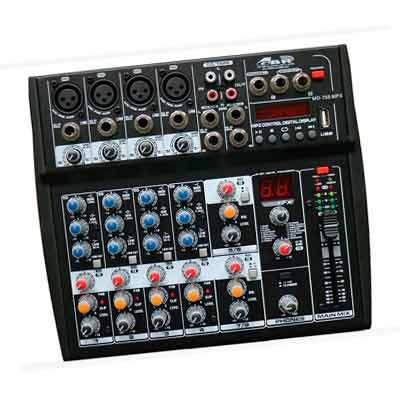 CONSOLA SONIDO MD755 8 CANALES GBR