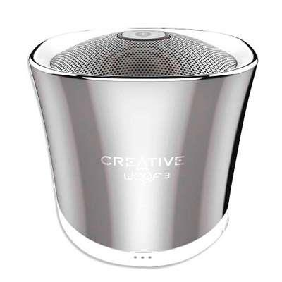PARLANTE WOOF3 BLUETOOTH SILVER CREATIVE
