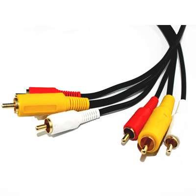 CABLE 3RCAX3RCA  GOLD 1.5MTS