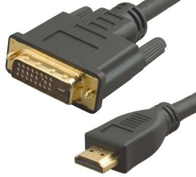 CABLE HDMI A DVI D  2MTS PURESONIC