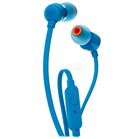 AURICULAR JBL T110 IN EAR AZUL