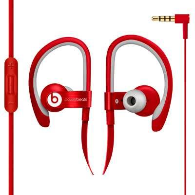 AURICULAR POWER BEATS 2  ROJO