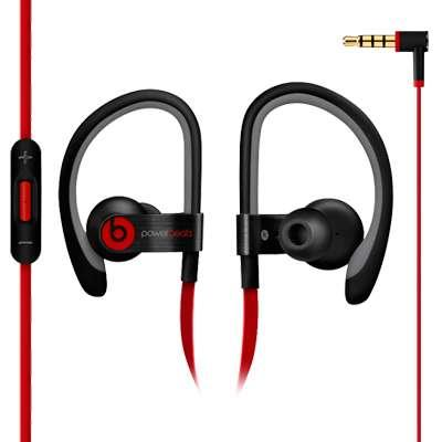 AURICULAR POWER BEATS 2  NEGRO