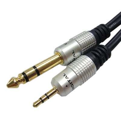 CABLE 3.5ST X 6.3ST HQ PURESONIC 3m