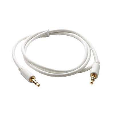 CABLE 3.5 ST M/M  0.5M PURESONIC BLANCO