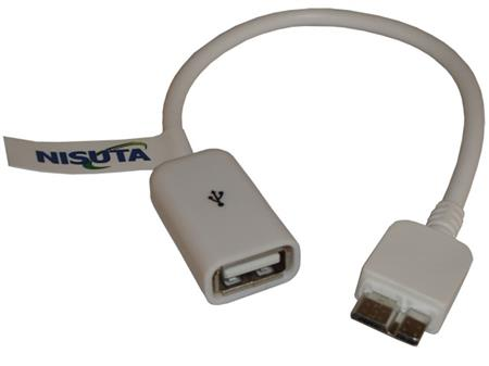 CABLE USB H A MICRO USB 3.0  OTG
