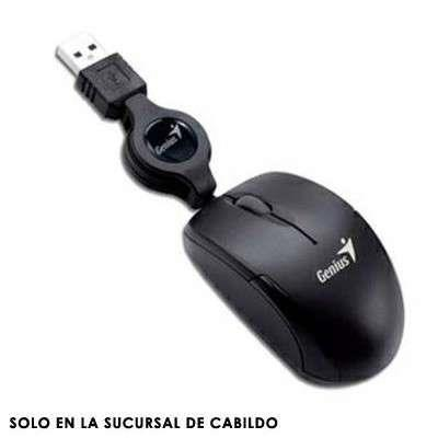 MOUSE MICRO TRAVELER USB GENIUS BLACK