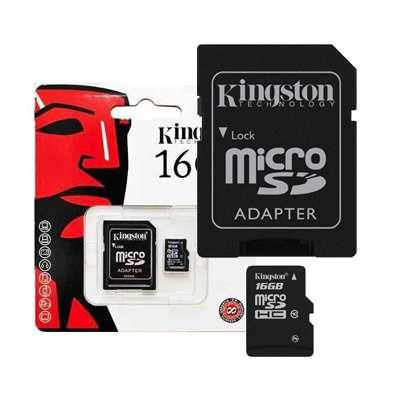 MEMORIA MICRO SD 16GB C10 80mb KINGSTON