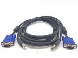 CABLE KVM VGA+USB 1.5M PURESONIC